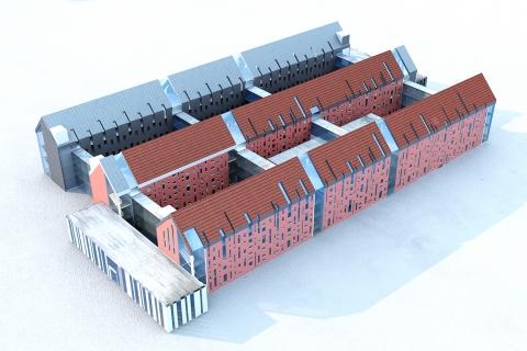 Visualization of a new hospital in Olsztyn