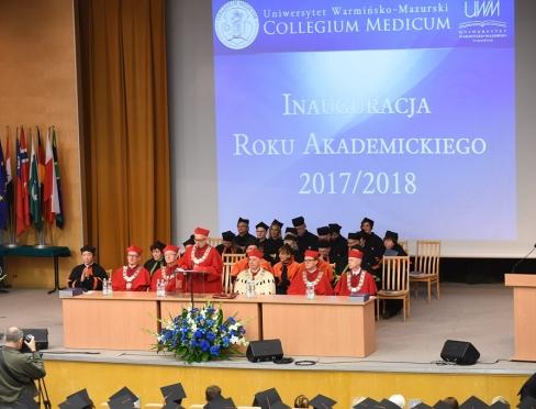Collegium Medicum - Inauguracja Roku Akademickiego 2017/2018